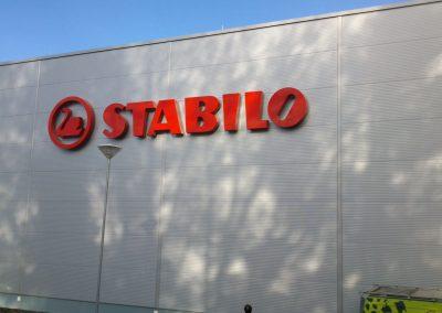 3D nápis STABILO (2)