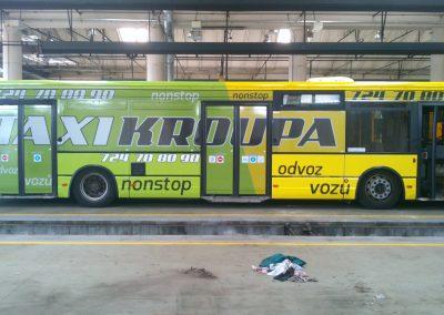 polepy autobusů